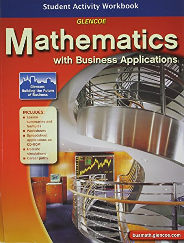 Mathematics with Business Applications, Student Activity Workbook (LANGE: HS BUSINESS MATH)