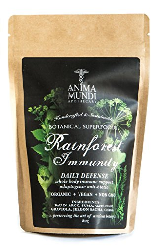 Anima Mundi Apothecary - Organic/Vegan Rainforest Immunity/Daily Whole Body Defense (8 (Chaga Syrup)