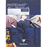Clairefontaine Pastelmat Pad Light and Dark Shades 360g 18x24cm, 12 Sheets
