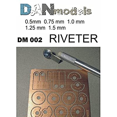 DAN MODELS REVITERS for Imitation RIVETING (5 Discs with Different RIVETING Steps) 1/35 002: Toys & Games