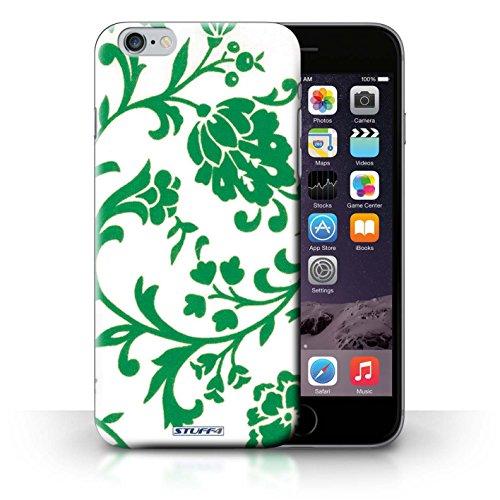 Etui / Coque pour iPhone 6+/Plus 5.5' / Fleurs Verte conception / Collection de Motif floral