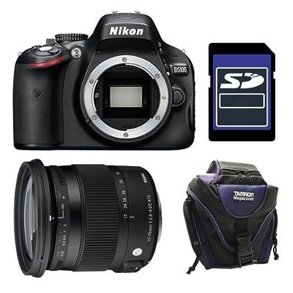 Nikon D5100 + Sigma 17-70 + SD 4Gb Juego de cámara SLR 16.2MP 1 ...