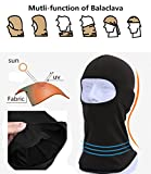 BCOCOB Balaclava - Windproof Ski Mask Adjustable Face Head Warmer for Skiing,Bike,Cycling,Hiking,Motorcycle Outdoor Sports (2 pack)