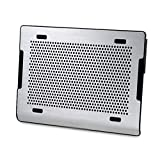 Ho,ney Laptop Cooler - Folding Portable Metal Aluminum Panel, Double Fan, with Adjustable Speed Mute Design, Suitable for 15.6 Inches Or Less -1053 Notebook Cooler