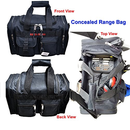 Explorer Range Bag Shooting Tactical Assault Gear Hiking Waist Bag Shoulder Backpack EDC Camera Bag MOLLE Modular Deployment Compact Utility Military Surplus Gear Heavy Duty (Black-JM15)
