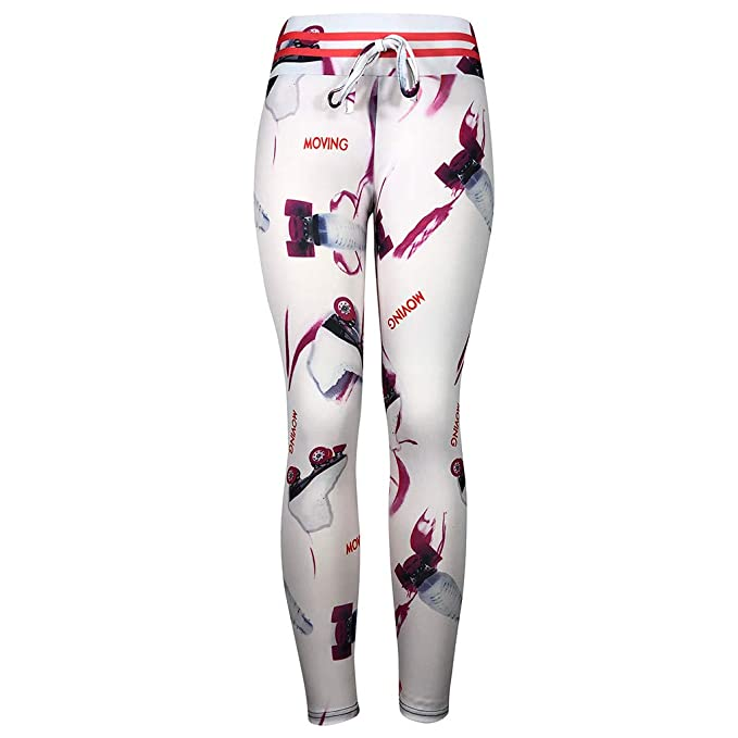 cinnamou Pantalon Yoga Mujer, Damas Estampado Moda Fitness ...