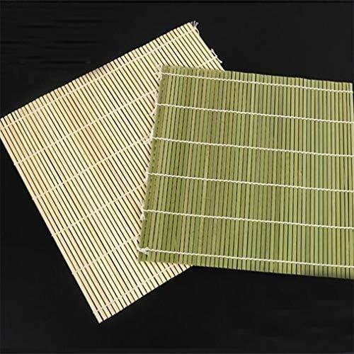 HU Japonais NATTE A SUSHI EN BAMBOU Roll Mat tapis CUISINE JAPONAISE 23cm x 24cm