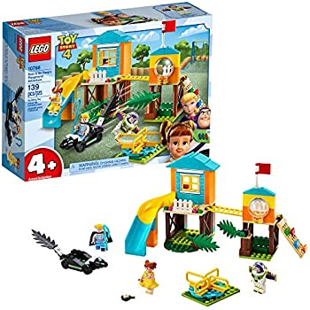 LEGO | Disney Pixar's Toy Story Buzz & Bo Peep's Playground Adventure 10768 Building Kit, New 2019 (139 Pieces)
