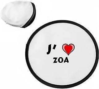 Frisbee personnalisé avec nom: Zoa (Noms/Prénoms) SHOPZEUS