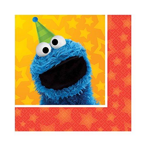 BirthdayExpress Sesame Street Party Supplies 48 Pack Beverage