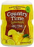 Country Time Lemonade, (Makes 8 Quarts) 19-Ounce Canisters (Pack of 6)