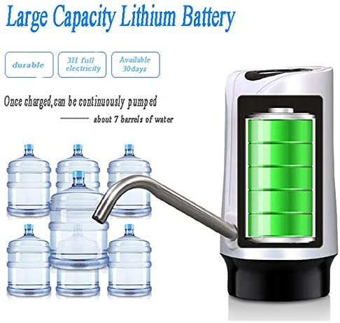 【HEMIWIN】USB Charging Portable Water Dispenser Smart Drinking Water Electric Water Pump Bottle