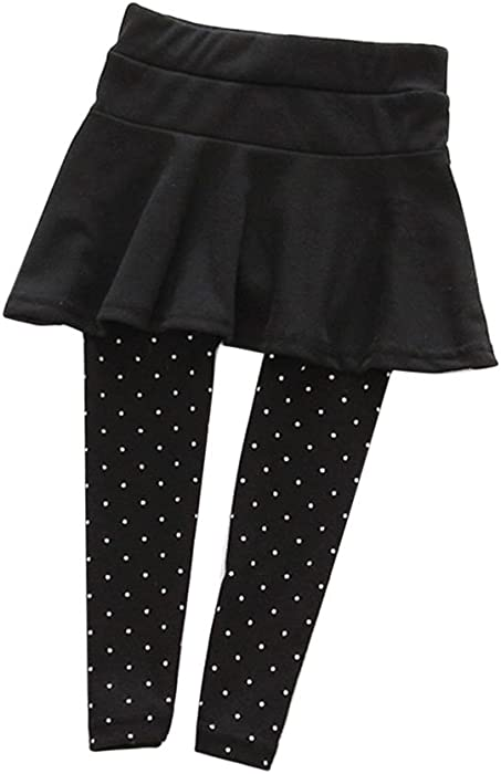a704478e6 Amazon.com  BOBORA Baby Girl Leggings Polka Dot Pattern Pantskirt ...