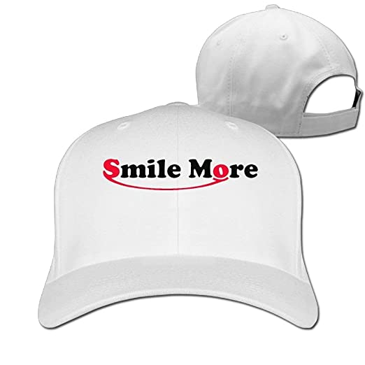 a1eb83a7875 Image Unavailable. Image not available for. Color  Adults Baseball Caps GA  Roman Atwood Smile More Logo Winter Cotton Ash Ball Hat