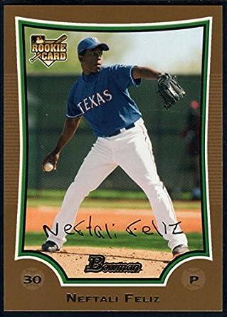 W/ Proof! rangers Qualified Neftali Feliz Autographed Baseball