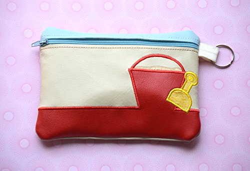 Cosmetic Bag, Summer Bag, Toiletry Bag, Beach Bag, Makeup Bag by Little Princess Bowtique