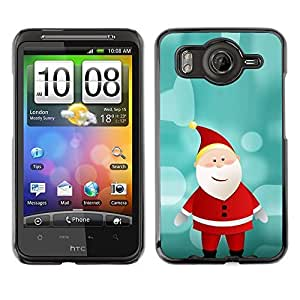 YOYO Slim PC / Aluminium Case Cover Armor Shell Portection //Christmas Holiday Santa Claus 1072 //HTC G10 by icecream design