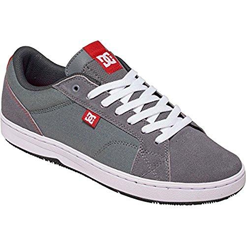 DC Men's Trase TX Unisex Skate Shoe Black/Red/White