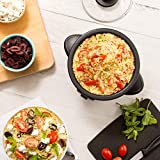 Dash DRCM200BK Mini Rice Cooker Steamer with