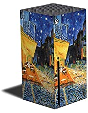 MIGHTY SKINS Skin Compatible with Xbox Series X - Cafe Terrace at Night   Protective, Durable, and Unique Vinyl Decal wrap Cover   Easy to Apply   Made in The USA