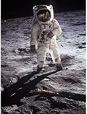 Apollo 11 Astronaut Aldrin Armstrong Moon Landing Wall Art Poster Pack of 8