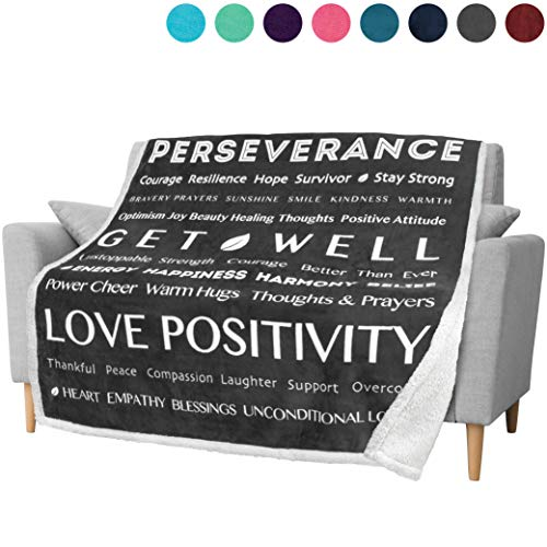 PAVILIA Healing Thoughts Blanket