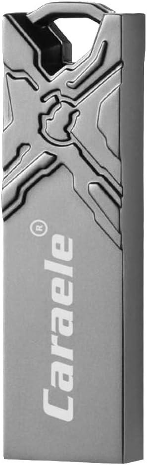 Almencla High USB 2.0 Flash Drive Stylish Design for PC Computer Grey 128GB