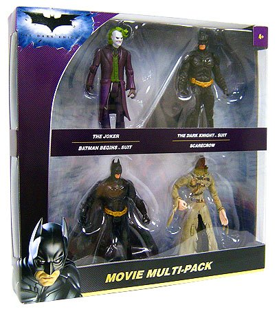 The Dark Knight > Movie Action Figure Multi-Pack (The Dark Knight Scarecrow)