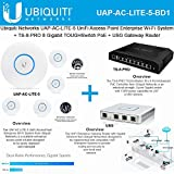 Ubiquiti UAP-AC-LITE-5 (5-PACK) UniFi AcessPoint + TS-8-PRO Switch + USG Router