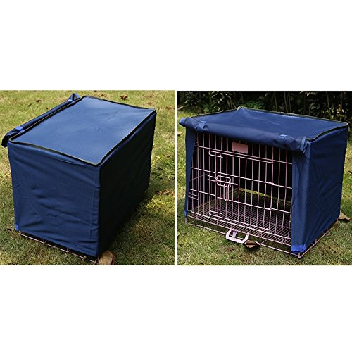 Rhegeneshop waterproof dustproof pet dog crate cage cover for Outdoor dog crate cover