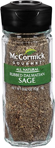McCormick Gourmet Collection, Rubbed Dalmation Sage, 0.62-Ounce Unit