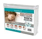 SOMNUS Sleep Comfort Series Mattress Protector, Hypoallergenic, King