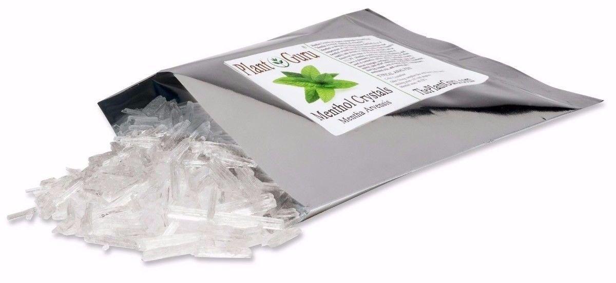 MENTHOL CRYSTALS 1lb Bulk Mentha Arvensis 100% Pure Natural USP Grade by KYUSport