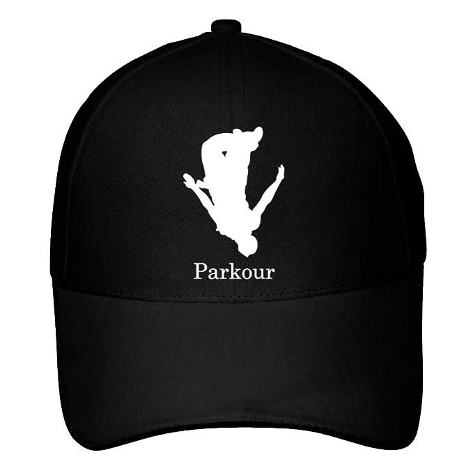 Idakoos Parkour Silhouette - Deportes - Gorra De Béisbol: Amazon.es: Ropa y accesorios