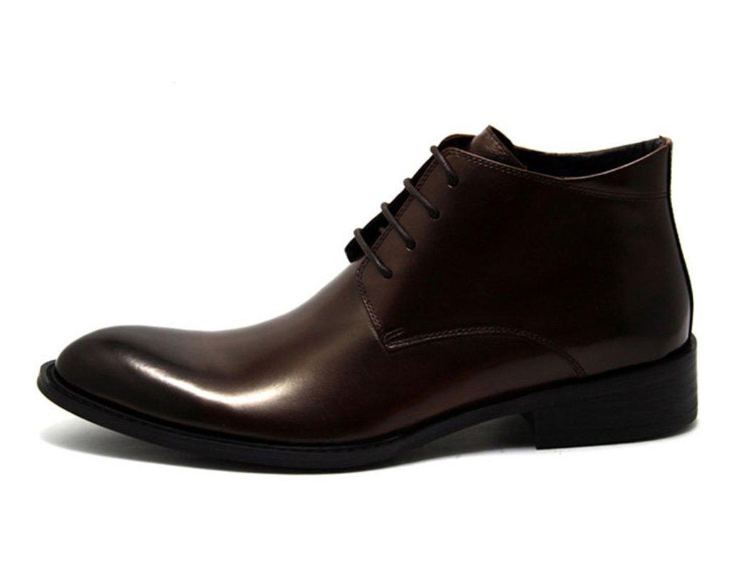 Zapatos Clásicos de Piel para Hombre Botas de cuero para hombre Botas de cuero para hombre comercial British ( Color : Marrón , Tamaño : EU37/UK4-4.5 ) EU37/UK4-4.5|Marrón