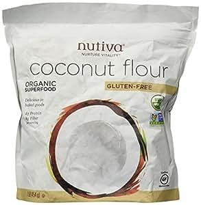Amazon.com : Nutiva Organic Coconut Flour - 1 lb : Flour