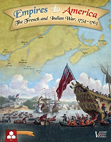 America Point - Victory Point Games Empires in America Second Edition - The French and Indian War Boxed Board Game