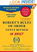 #10: Robert's Rules of Order Newly Revised In Brief, 2nd edition (Roberts Rules of Order in Brief)