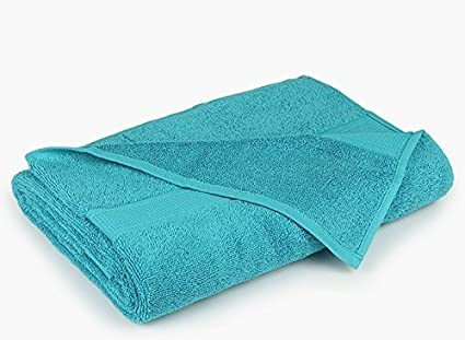 Bombay Dyeing Santino 550 GSM Cotton Bath Towel - Large, Sea Green