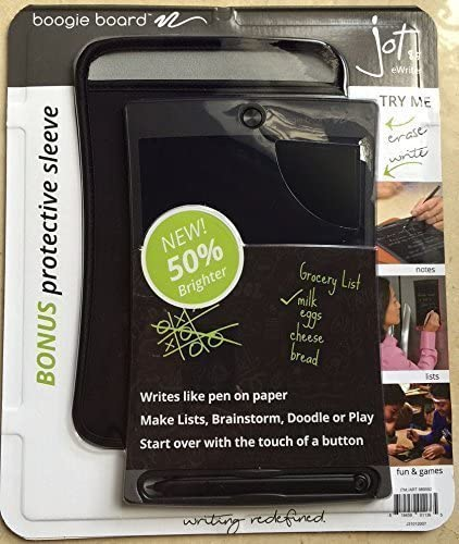Boogie Board Jot 8 5 Lcd Ewriter Schreibtablett Neoprenhülle Eingabestift Bürobedarf Schreibwaren