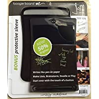 Boogie Board Jot 8.5 LCD eWriter Black Writing Tablet Plus Neoprene Sleeve Plus Stylus