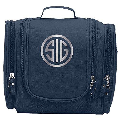 Personal Sig - Sig Sauer Firearms Sig Platinum Logo Cosmetic Makeup Bag