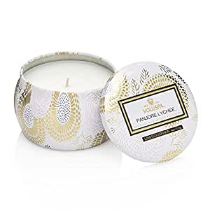 Voluspa Panjore Lychee Limited Decorative Tin Candle 4 oz