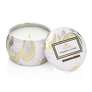 Amazoncom Voluspa Panjore Lychee Limited Decorative Tin Candle 4