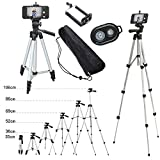 go pro samsung s3 mini - 110cm Remote Controller Shutter + Portable Camera Tripod Stand Holder Adjustable Rotatable Retractable Aluminum Tripods Smartphones Mount for iPhone 7 7 6s 6 Plus Samsung S7 S8 LG G6 V20 Stylo Moblie