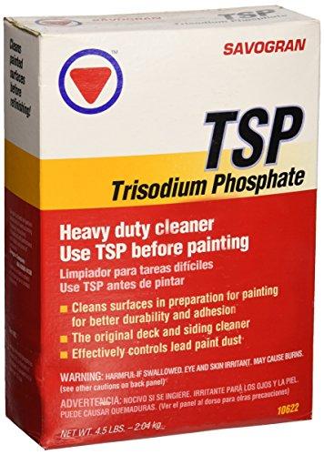 Savogran 10622 Trisodium Phosphate  Tsp  4 5Lbs