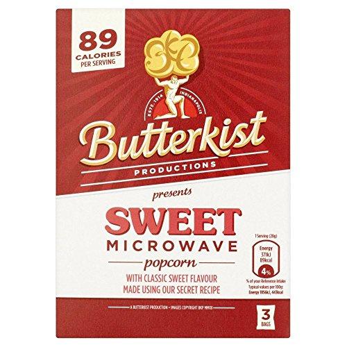 Sweetener Slim Sweet (Butterkist Microwave Popcorn - Sweet (3 per pack - 270g))