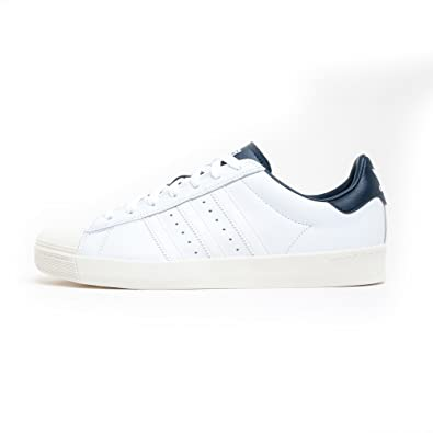 b59e299b312 Mens adidas Originals Mens Superstar Vulc Adv Trainers in White Navy - UK6