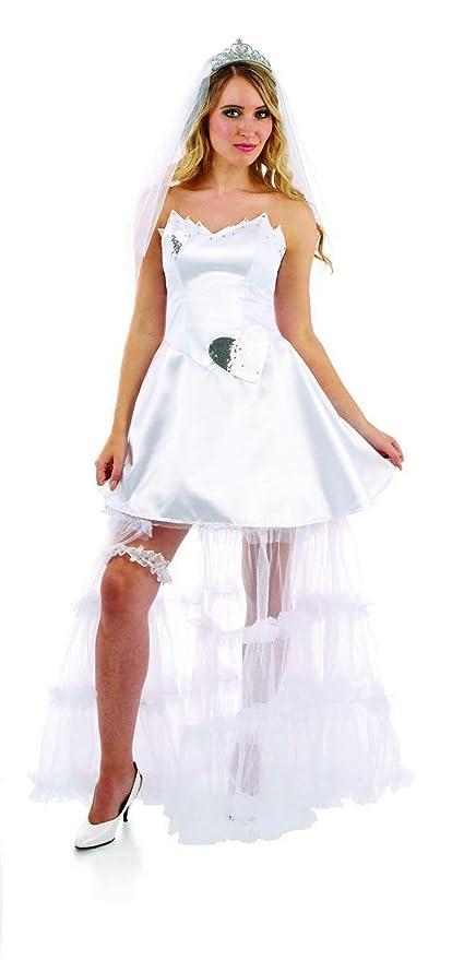 Amazon.com: Divertido disfraz de novia gitana para mujer ...