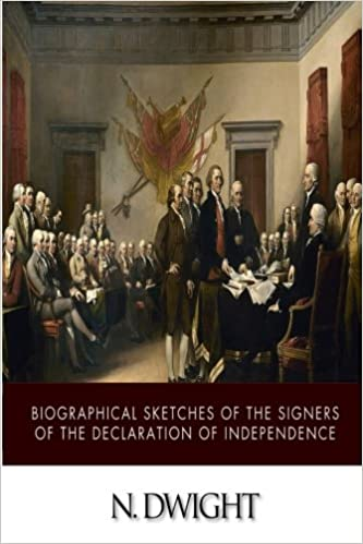 Book Biographical Sketches of the Signers of the Declaration of Independence